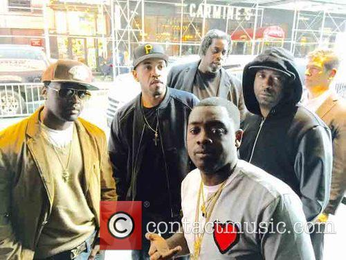 G Unit, Troy Ave, Lloyd Banks, Kidd Kidd and Tony Yayo