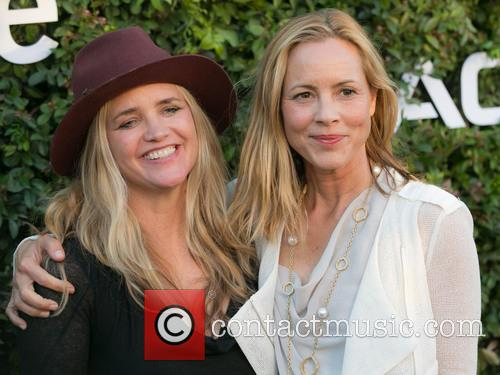 Clare Munn and Maria Bello 1