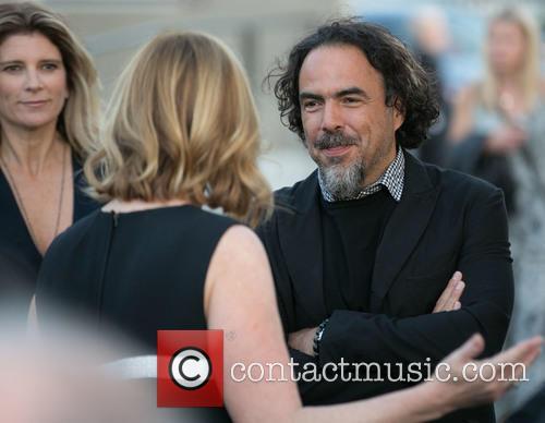 Maria Eladia Hagerman, Keri Putnam and Alejandro González Iñárritu 2