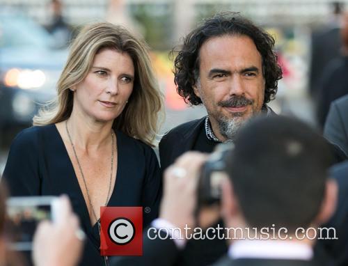 Maria Eladia Hagerman and Alejandro González Iñárritu 3