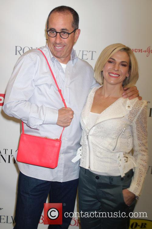 Jerry Seinfeld and Jessica Seinfeld 1
