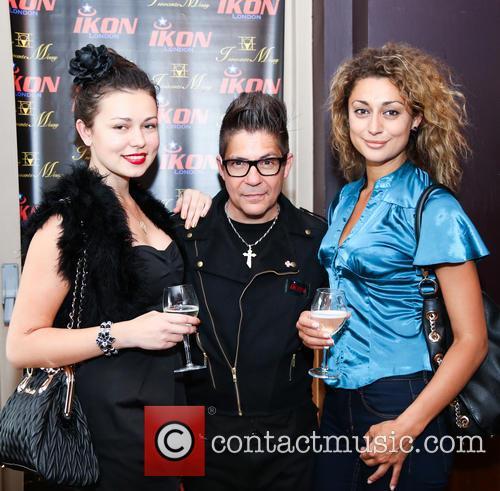 Irina Sosnova (model), Joe Alvarez and Gabriela Georgieva (model) 1