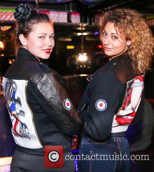 Irina Sosnova (model) and Gabriela Georgieva (model) 2