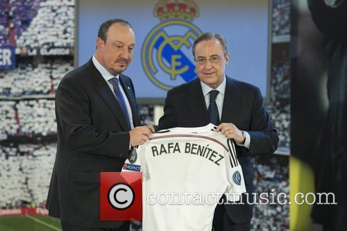 Real Madrid, Rafael Benitez and Florentino Perez 8
