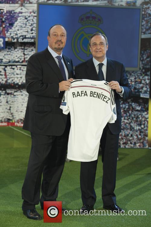 Real Madrid, Rafael Benitez and Florentino Perez 1