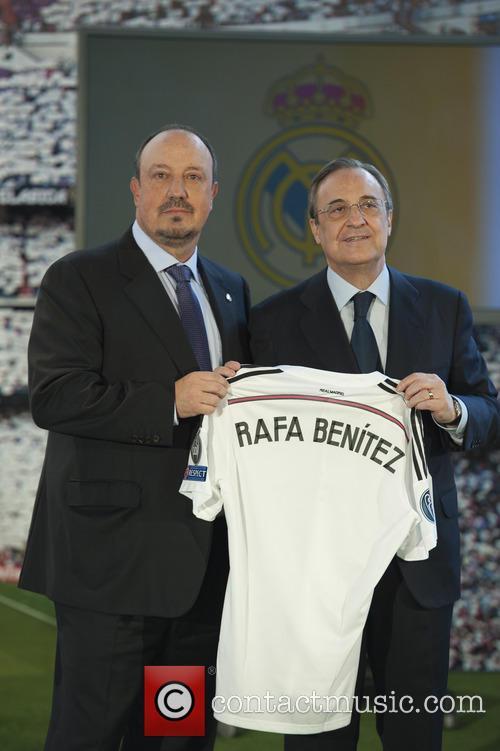 Real Madrid, Rafael Benitez and Florentino Perez 11
