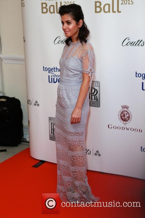 Katie Melua and Dress By Self Portrait 2