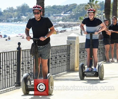 James Argent, James Diags Bennewith, James Locke and Elliot Wright 2