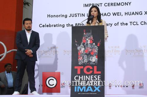 Justin Lin and Zhao Wei