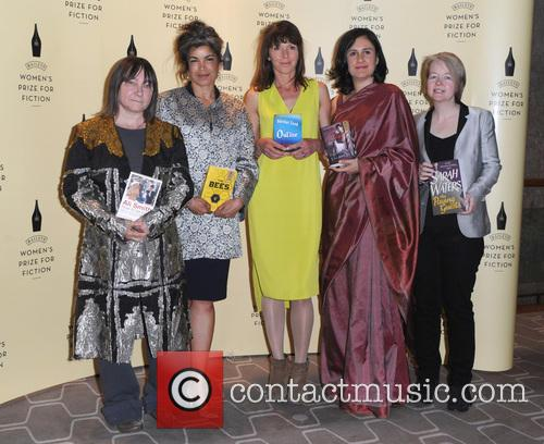 Ali Smith, Laline Paull, Rachel Cusk, Kamila Shamsie and Sarah Waters 2