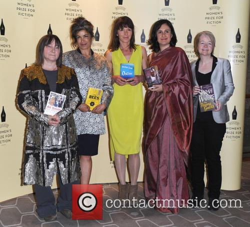 Ali Smith, Laline Paull, Rachel Cusk, Kamila Shamsie and Sarah Waters 1