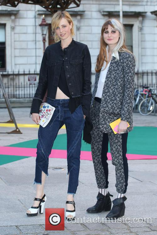 Edie Campbell and Christabel Macgreevy 5