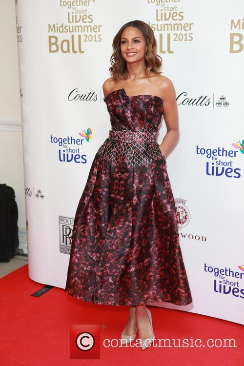 Alesha Dixon and Dress By Sandra Mansour 2