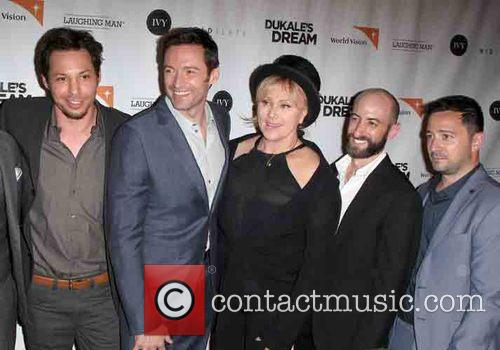 Josh Rothstein, Hugh Jackman, Deborra-lee Furness, David Steingard and Jesse Scolaro 2