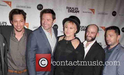 Josh Rothstein, Hugh Jackman, Deborra-lee Furness, David Steingard and Jesse Scolaro 1