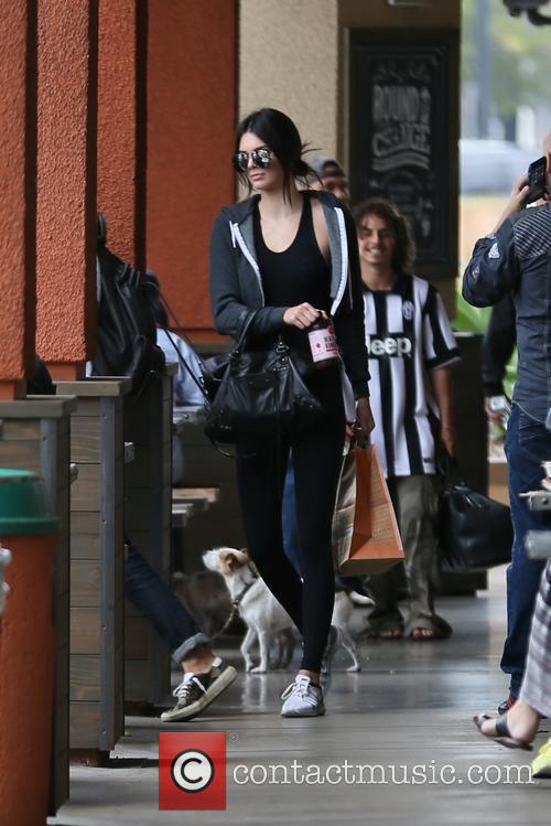 Kendall Jenner food shopping in West Hollywood