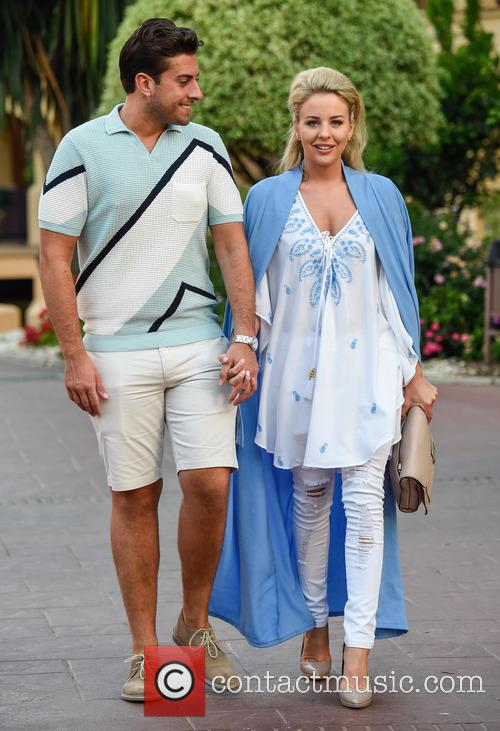 Lydia Bright and James Argent head to dinner...