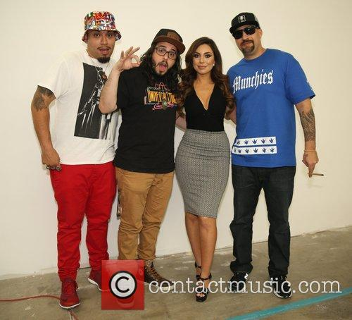 Uldouz Wallace and B-real 3