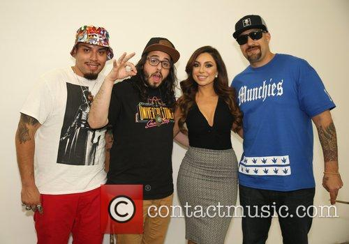 Uldouz Wallace and B-real 4