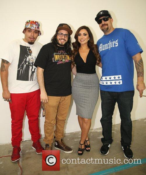 Uldouz Wallace and B-real 5