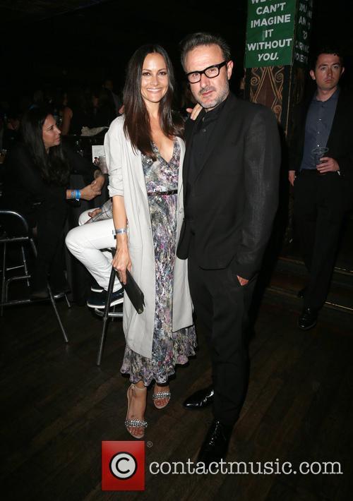 Christina Mclarty and David Arquette 1