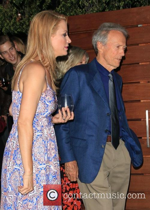 Alison Eastwood and Clint Eastwood 2
