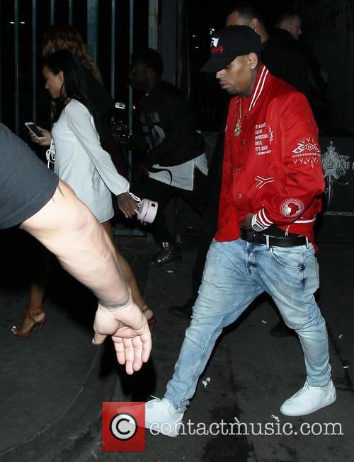Karrueche Tran and Chris Brown 4