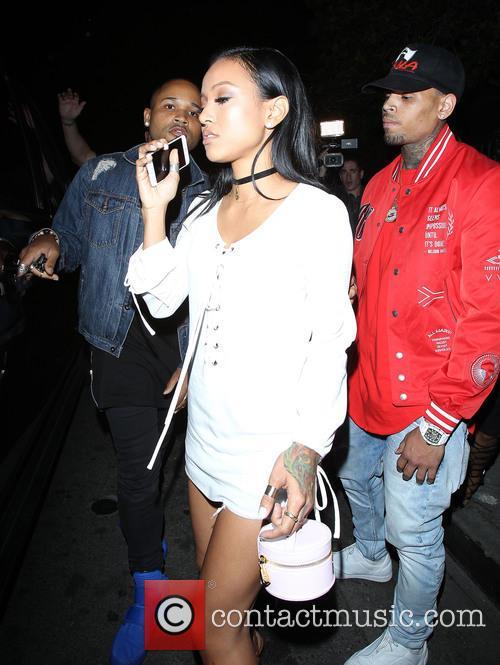 Karrueche Tran and Chris Brown 1
