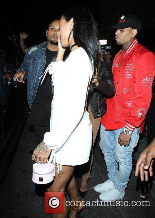 Karrueche Tran and Chris Brown 7