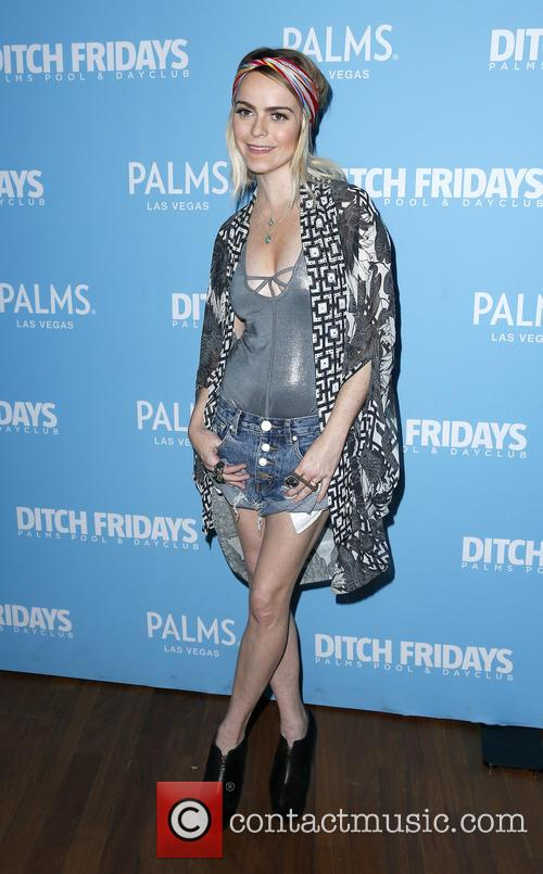 Taryn Manning hosts 'Ditch Fridays' at the Palms...
