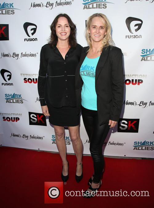 Jorja Fox and Stefanie Brendl 3