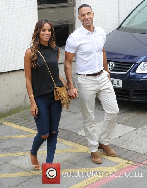 Rochelle Humes and Marvin Humes at ITV