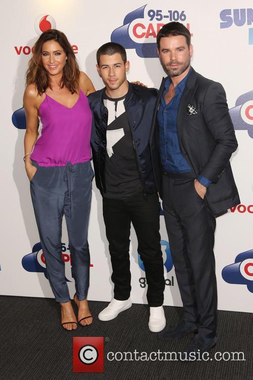 Lisa Snowdon, Nick Jonas and Dave Berry 9
