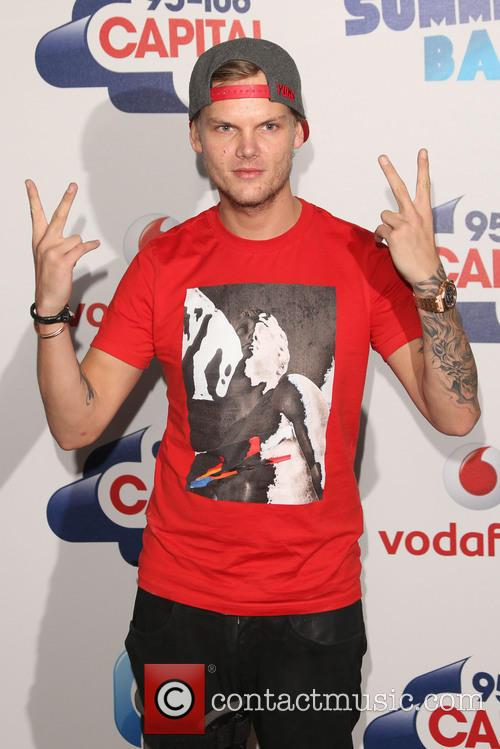 Avicii at the 2015 Capital FM Summertime Ball