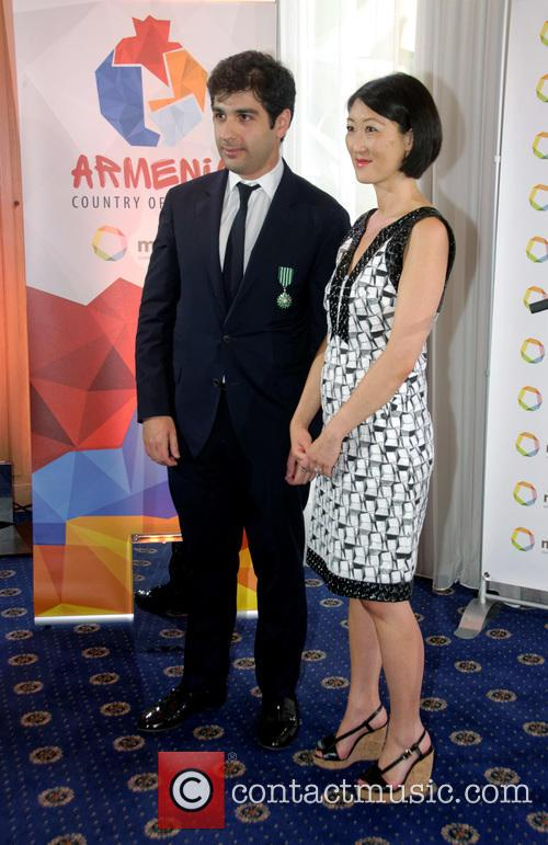 Fleur Pellerin and Sergey Smbatyan 4