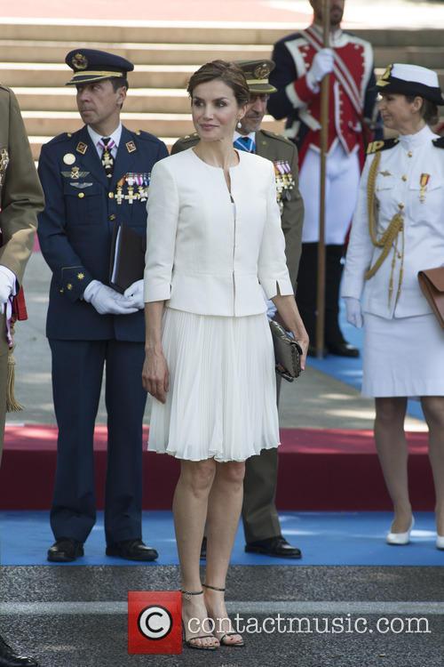 King Felipe VI and Queen Letizia of Spain...