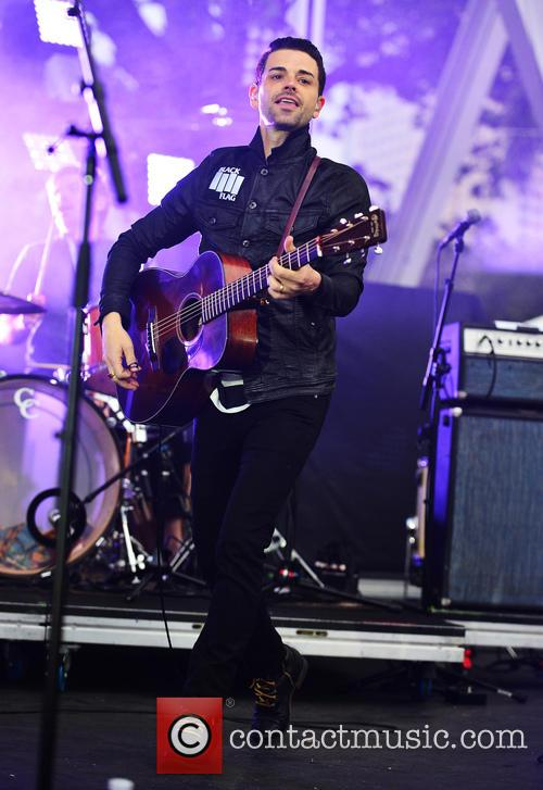 Dashboard Confessional perform live in concert