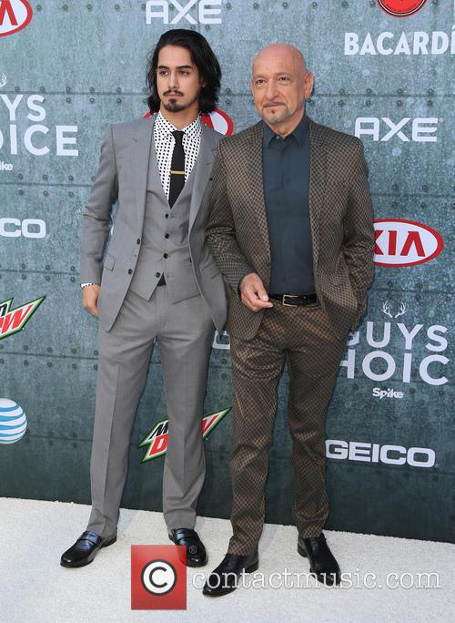 Avan Jorgia and Sir Ben Kingsley 9