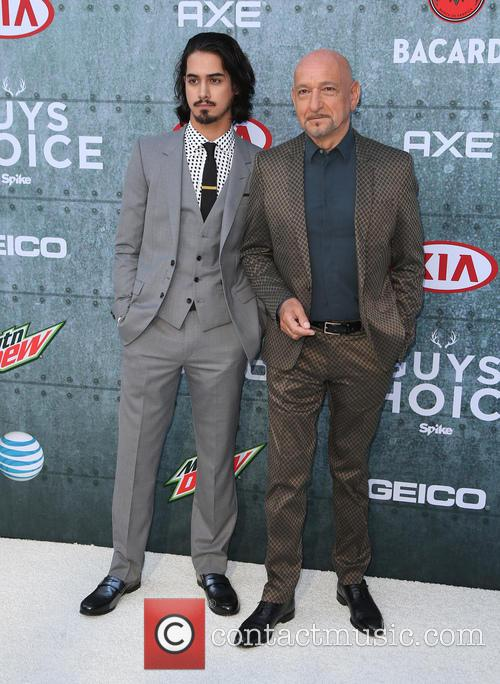 Avan Jorgia and Sir Ben Kingsley 10