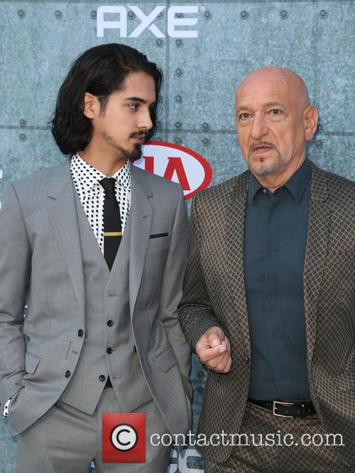 Avan Jorgia and Sir Ben Kingsley 11