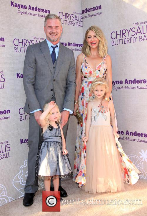 Eric Dane, Butterfly Ball Co-chair Rebecca Gayheart-dane, Daughter Georgia Dane and Daughter Billie Beatrice Dane 2
