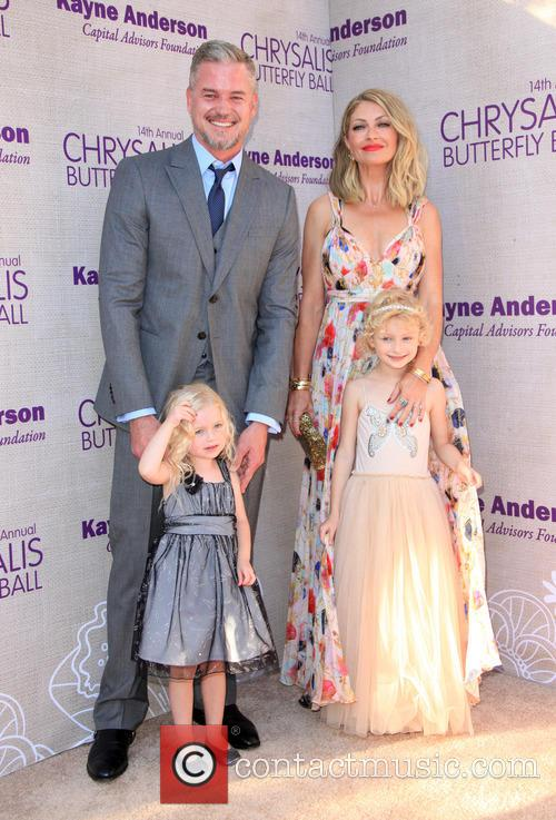 Eric Dane, Butterfly Ball Co-chair Rebecca Gayheart-dane, Daughter Georgia Dane and Daughter Billie Beatrice Dane 3