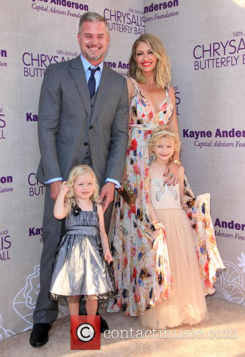 Eric Dane, Butterfly Ball Co-chair Rebecca Gayheart-dane, Daughter Georgia Dane and Daughter Billie Beatrice Dane 4