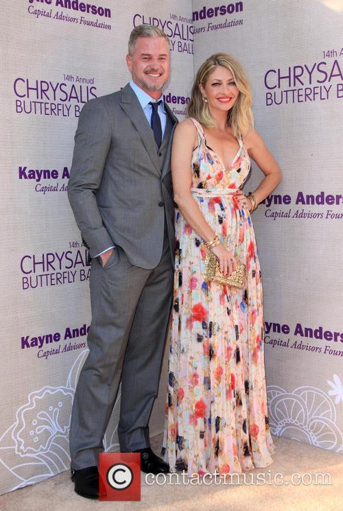 Eric Dane and Butterfly Ball Co-chair Rebecca Gayheart-dane 7