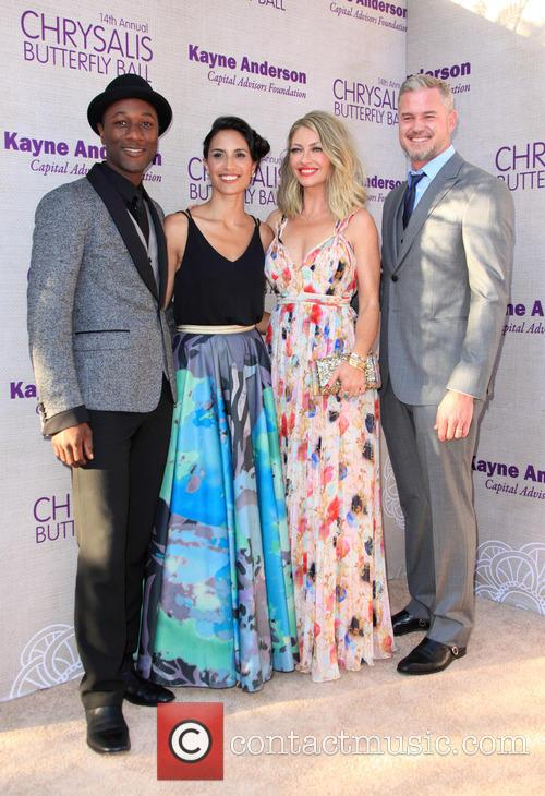 Aloe Blacc, Maya Jupiter, Butterfly Ball Co-chair Rebecca Gayheart-dane and Actor Eric Dane 2