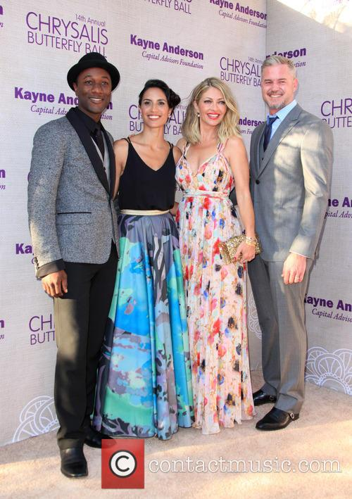 Aloe Blacc, Maya Jupiter, Butterfly Ball Co-chair Rebecca Gayheart-dane and Eric Dane 3