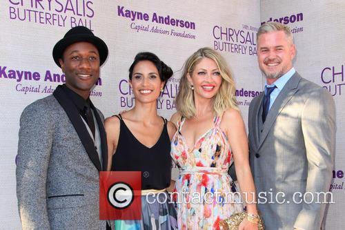 Aloe Blacc, Maya Jupiter, Butterfly Ball Co-chair Rebecca Gayheart-dane and Eric Dane 1