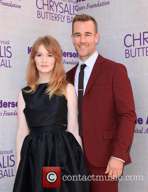 James Van Der Beek and Kimberly Van Der Beek 1