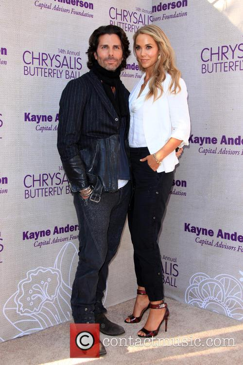 Elizabeth Berkley and Greg Lauren