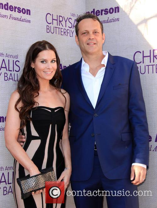Kyla Weber and Vince Vaughn 2